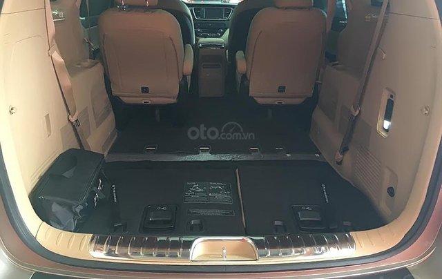 Bán xe Kia Sedona Platinum D 2019, màu vàng1
