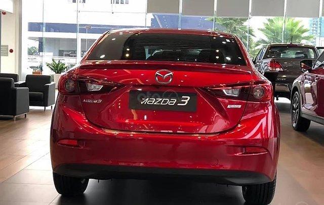 Bán xe Mazda 3 Facelift đời 2019, màu đỏ0