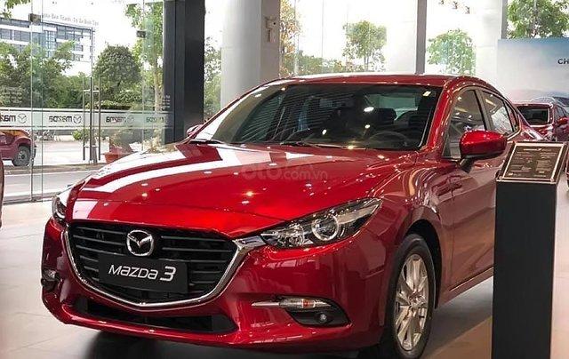 Bán xe Mazda 3 Facelift đời 2019, màu đỏ3