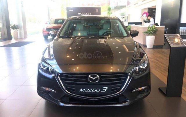 Bán xe Mazda 3 1.5AT năm 2019, màu xanh lam0