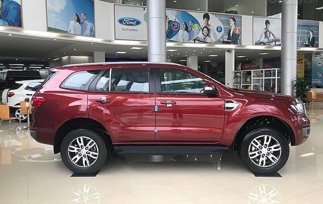 Cần bán xe Ford Everest Trend 2.0L 4x2 AT sản xuất 2019, màu đỏ, nhập khẩu Thái Lan0