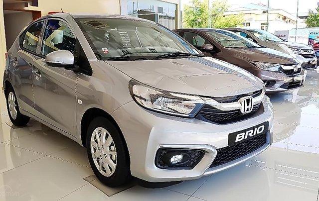 Cần bán Honda Brio G sản xuất 2019, màu bạc, nhập khẩu nguyên chiếc, giá chỉ 418 triệu0