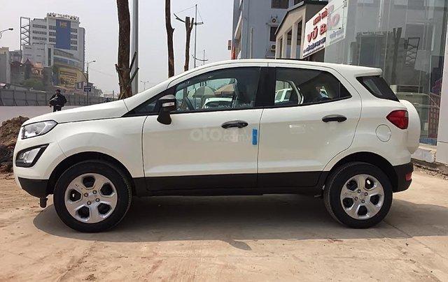 Cần bán xe Ford EcoSport Ambiente 1.5L MT sản xuất 2019, màu trắng, giá tốt0
