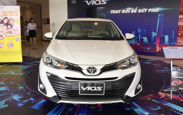 Giá xe Toyota Vios 1.5G 2019, giảm sập sàn, tặng bảo hiểm thân vỏ, hỗ trợ trả góp, chi tiết LH ngay 09788358500