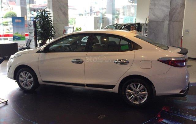 Giá xe Toyota Vios 1.5G 2019, giảm sập sàn, tặng bảo hiểm thân vỏ, hỗ trợ trả góp, chi tiết LH ngay 09788358508