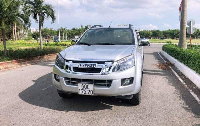 Bán xe Isuzu Dmax đời 2014, màu bạc, nhập khẩu nguyên chiếc, số sàn0