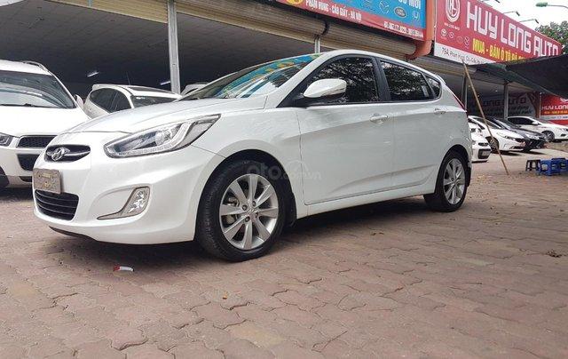 [Tín Thành Auto] Bán Hyundai Accent 1.4AT 2016, nhập khẩu màu trắng0