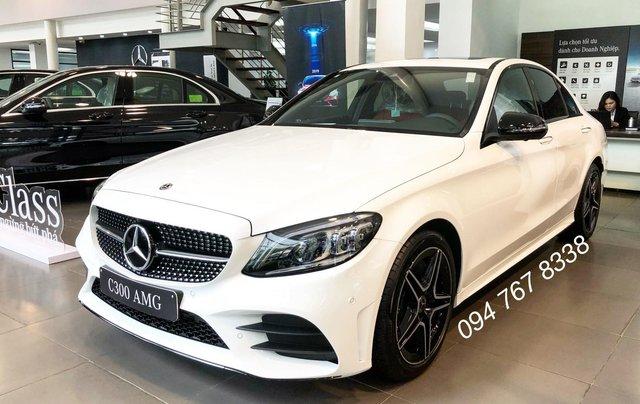 Bán Mercedes C300 AMG 2020, giao ngay giá ưu đãi lớn nhất, mua xe chỉ với 399tr0