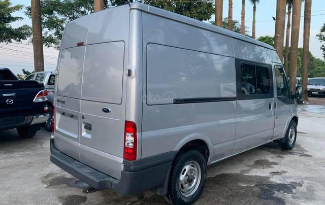 Bán Ford Transit van 6 chỗ, 900kg sản xuất 2009, màu bạc4