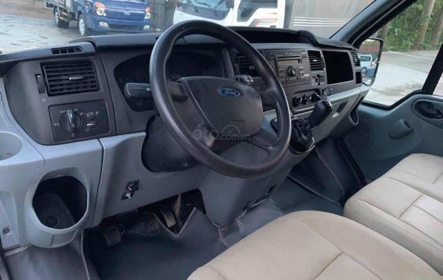 Bán Ford Transit van 6 chỗ, 900kg sản xuất 2009, màu bạc9