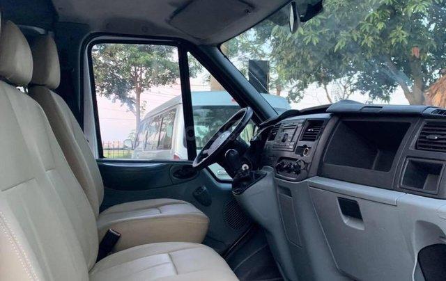 Bán Ford Transit van 6 chỗ, 900kg sản xuất 2009, màu bạc11