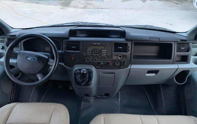 Bán Ford Transit van 6 chỗ, 900kg sản xuất 2009, màu bạc12