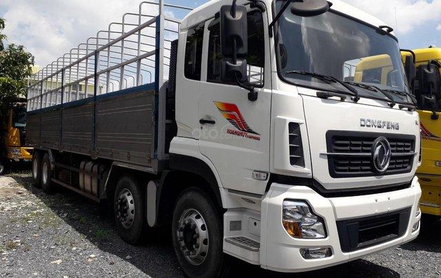 Xe tải Dongfeng 4 chân tải trọng 17 tấn 9, nhập khẩu, đời 20170