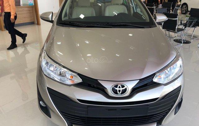 Bán xe chính hãng chiếc xe Toyota Vios 1.5E - đời 2019 - Có sẵn xe - giao ngay0