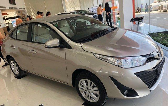 Bán xe chính hãng chiếc xe Toyota Vios 1.5E - đời 2019 - Có sẵn xe - giao ngay1