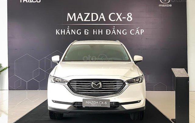 Cần bán xe Mazda CX-8 Premium AWD 2019, màu trắng0