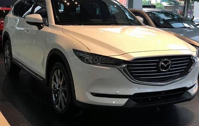 Bán Mazda CX-8 Premium AWD 2019, màu trắng1