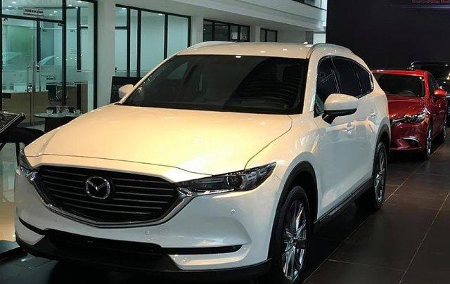 Bán Mazda CX-8 Premium AWD 2019, màu trắng0