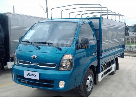 Trả trước 100 triệu đã mua được chiếc Kia K250 tải 2.49 tấn, máy Hyundai đời 2019, thùng dài 3.5 mét, xe tại Thuận An6