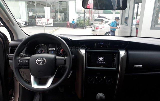 Bán Toyota Fortuner 2.4G số sàn, máy dầu 2019, màu đồng, hỗ trợ vay 85% thanh toán 240tr nhận ngay xe1