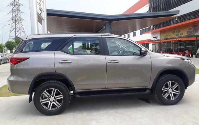 Bán Toyota Fortuner 2.4G số sàn, máy dầu 2019, màu đồng, hỗ trợ vay 85% thanh toán 240tr nhận ngay xe3