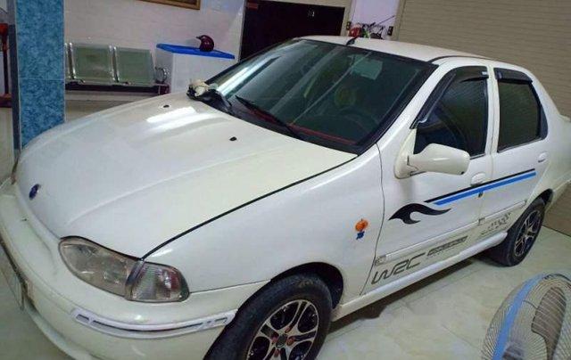 Bán xe 5 chỗ Fiat Siena 1.3 2003, xe màu trắng, máy êm, sử dụng kĩ, bảo trì thường xuyên4