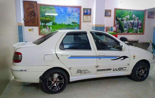 Bán xe 5 chỗ Fiat Siena 1.3 2003, xe màu trắng, máy êm, sử dụng kĩ, bảo trì thường xuyên2