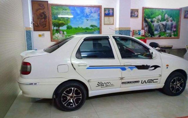 Bán xe 5 chỗ Fiat Siena 1.3 2003, xe màu trắng, máy êm, sử dụng kĩ, bảo trì thường xuyên3