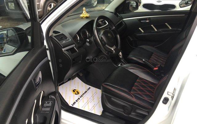 Cần bán xe Suzuki Swift 1.4AT sản xuất 2013, màu trắng, nhập khẩu9