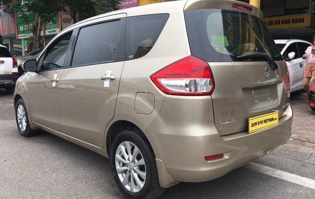 Bán Suzuki Ertiga 1.4AT sản xuất năm 2015, màu ghi vàng, xe nhập5