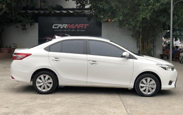 Cần bán Toyota Vios E 1.5 MT 2016, số sàn, màu trắng1