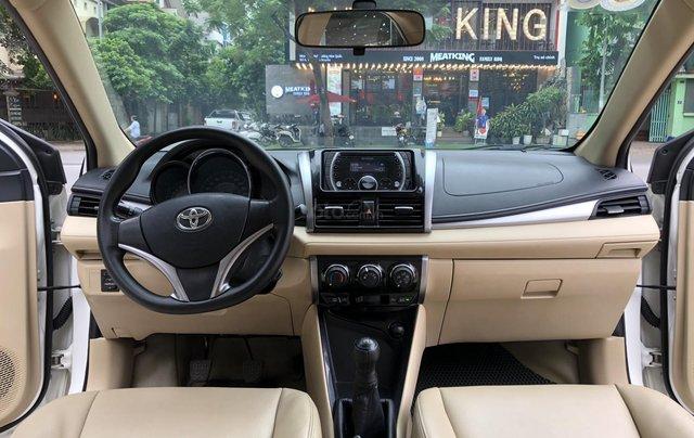 Cần bán Toyota Vios E 1.5 MT 2016, số sàn, màu trắng3