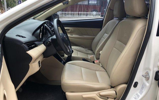 Cần bán Toyota Vios E 1.5 MT 2016, số sàn, màu trắng4