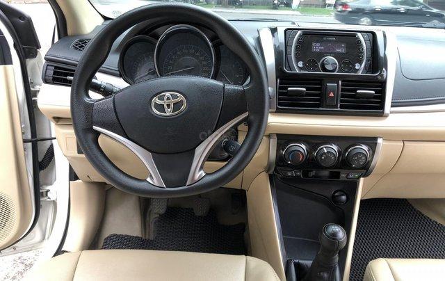 Cần bán Toyota Vios E 1.5 MT 2016, số sàn, màu trắng6