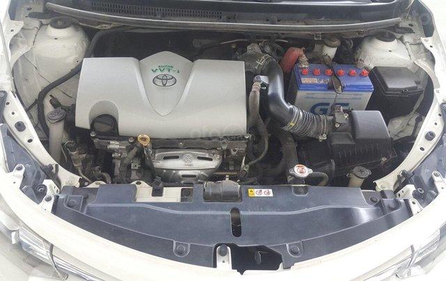 Cần bán Toyota Vios E 1.5 MT 2016, số sàn, màu trắng8