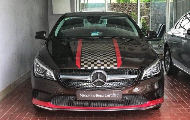 Bán Mercedes CLA 200 màu nâu demo chính hãng Trường Chinh2