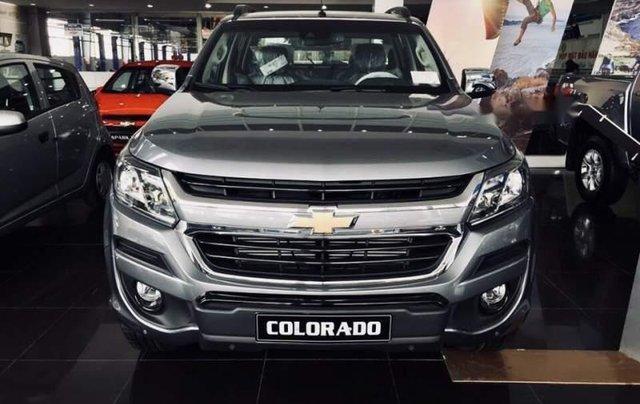 Cần bán xe Chevrolet Colorado LTZ sản xuất năm 2019, màu bạc, nhập khẩu1