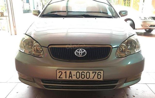 Chính chủ bán Toyota Corolla altis 2003, màu bạc0