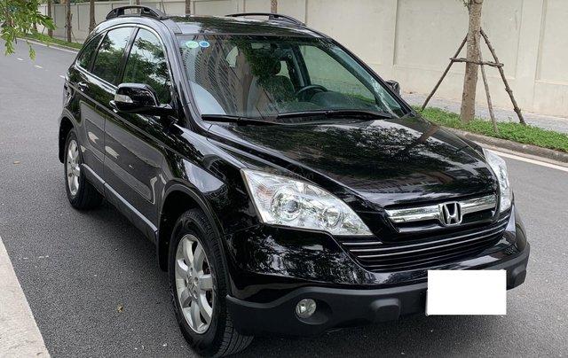 Bán Honda CR V 2.4 năm 2009, màu đen3