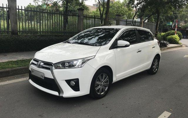 Bán xe Toyota Yaris 1.3G đời 2015, xe nhập9