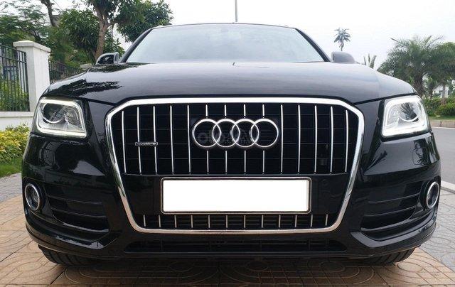 Bán Audi Q5 2.0 TFSI màu đen/ nâu, sản xuất cuối 2015 nhập Đức, đăng ký 2016 tên tư nhân0