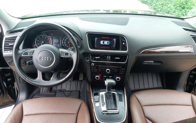 Bán Audi Q5 2.0 TFSI màu đen/ nâu, sản xuất cuối 2015 nhập Đức, đăng ký 2016 tên tư nhân8