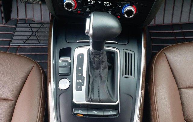 Bán Audi Q5 2.0 TFSI màu đen/ nâu, sản xuất cuối 2015 nhập Đức, đăng ký 2016 tên tư nhân10