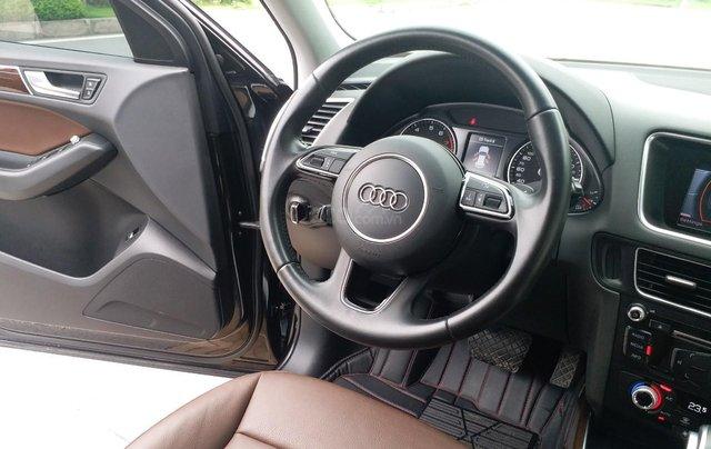 Bán Audi Q5 2.0 TFSI màu đen/ nâu, sản xuất cuối 2015 nhập Đức, đăng ký 2016 tên tư nhân11
