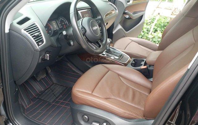 Bán Audi Q5 2.0 TFSI màu đen/ nâu, sản xuất cuối 2015 nhập Đức, đăng ký 2016 tên tư nhân13