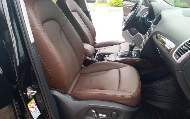 Bán Audi Q5 2.0 TFSI màu đen/ nâu, sản xuất cuối 2015 nhập Đức, đăng ký 2016 tên tư nhân15