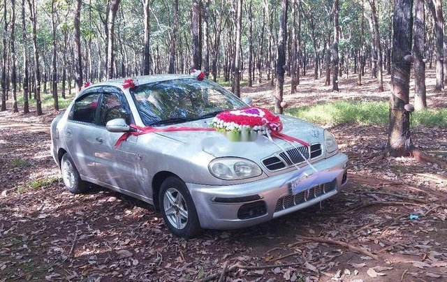 Cần bán lại xe Daewoo Lanos đời 2004, màu bạc, nhập khẩu 0