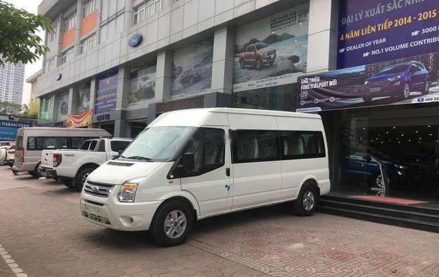 Bán ô tô Ford Transit sản xuất 2019, màu trắng, 705 triệu0