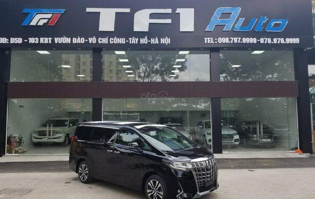 Cần bán Toyota Alphard sản xuất 2019, màu đen, nhập khẩu0