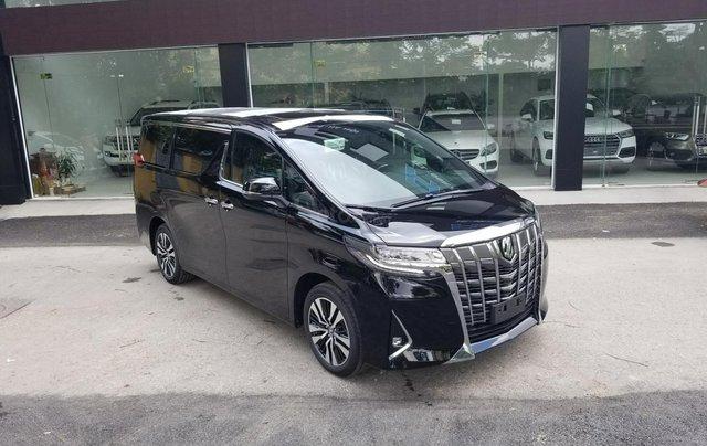 Cần bán Toyota Alphard sản xuất 2019, màu đen, nhập khẩu1